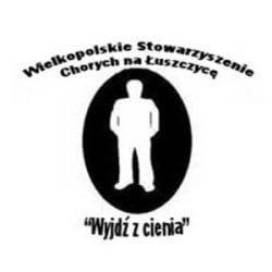 """Wielkopolskie Stowarzyszenie Chorych na Łuszczycę """"Wyjdź z Cienia"""" - logo"""