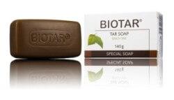 Mydło dziegciowo-palmowe Biotar na łuszczycę